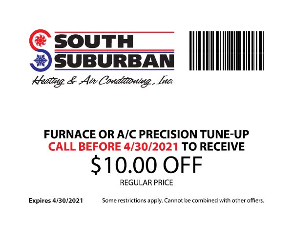 South Suburban Heating & Air Conditioning - $10 Off Furnance or AC Tune-Up